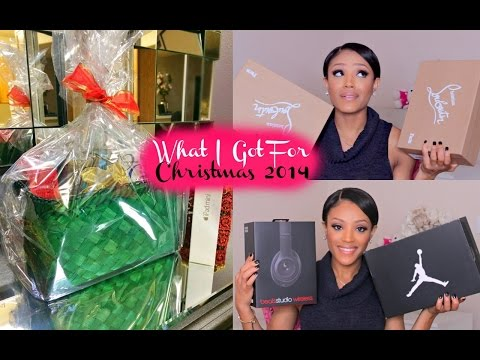 What I Got for Christmas 2014 + Holiday GIVEAWAY- iPad & Beauty Baskets