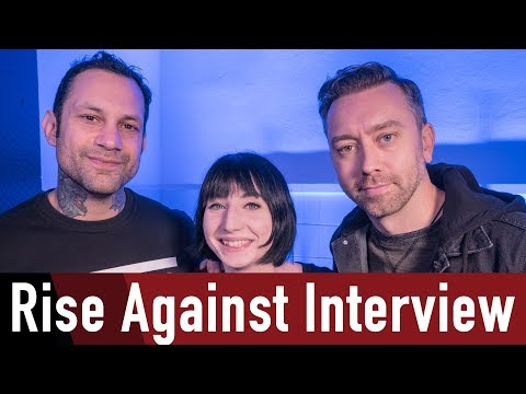 Rise Against Interview Nov 2017 @ROCKANTENNE