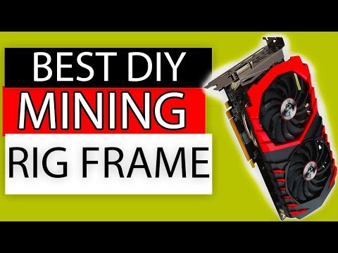 How To Build Your Mining Rig OPEN AIR Frame For Mining Any Crypto!