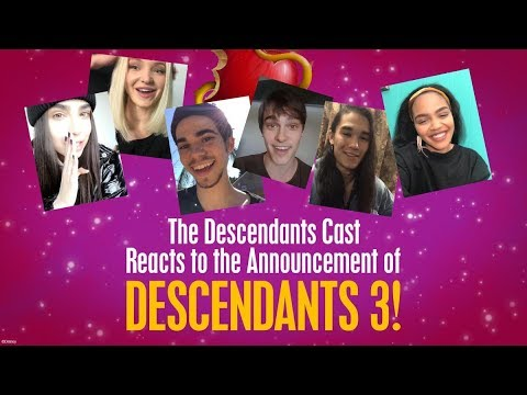 Cast Reactions! 🙌 😍 | Descendants 3