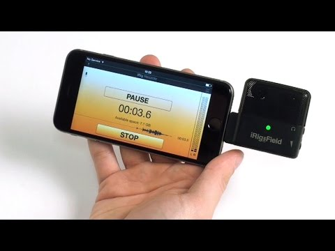 iRig Recorder 2 Overview - Effortless stereo recording on your iOS device