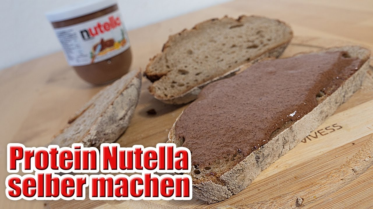 protein nutella selber machen low carb rezept youtube. Black Bedroom Furniture Sets. Home Design Ideas
