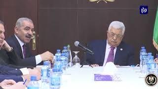 الحكومة الفلسطينية أمام تحديات صفقة القرن وضم مستوطنات الضفة الغربية (14-4-2019)