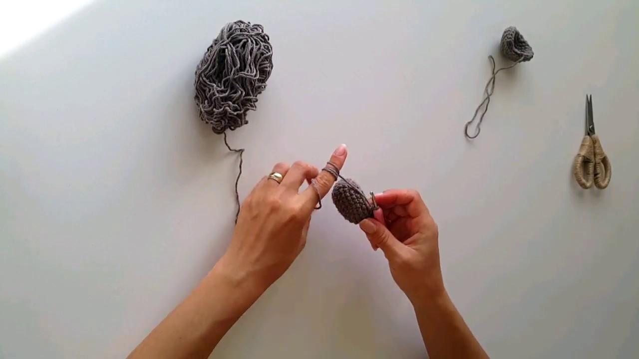 Amigurumi MAYMUN KULAK yapımı #BÖLÜM 6 / Crochet Amigurumi Toy Monkey