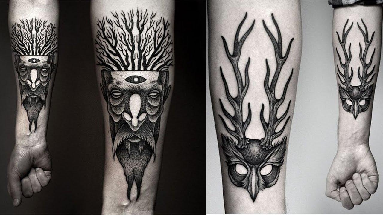 Impressive Forearm Tattoos For Men - Tattoo Ideas For Men - YouTube