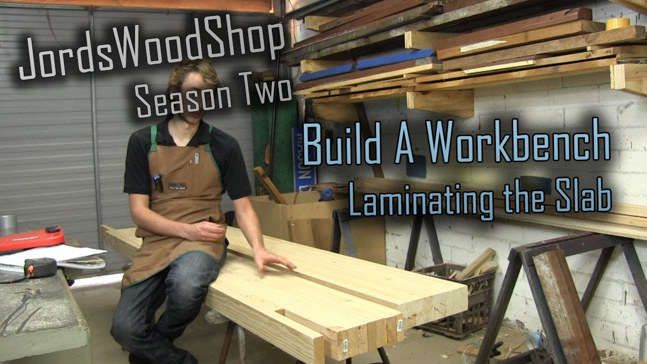 202: Build a solid workbench on a budget (split top roubo) -- Part 1 ...