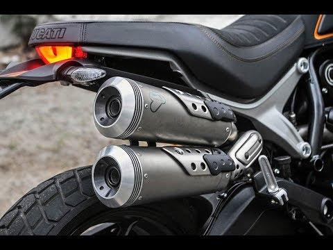 Sound Test Ducati Scrambler 1100