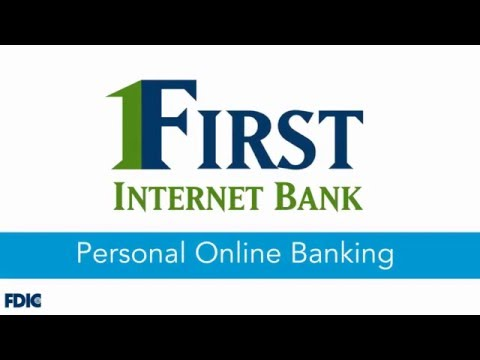 First Internet Bank: Personal Online Banking Demo