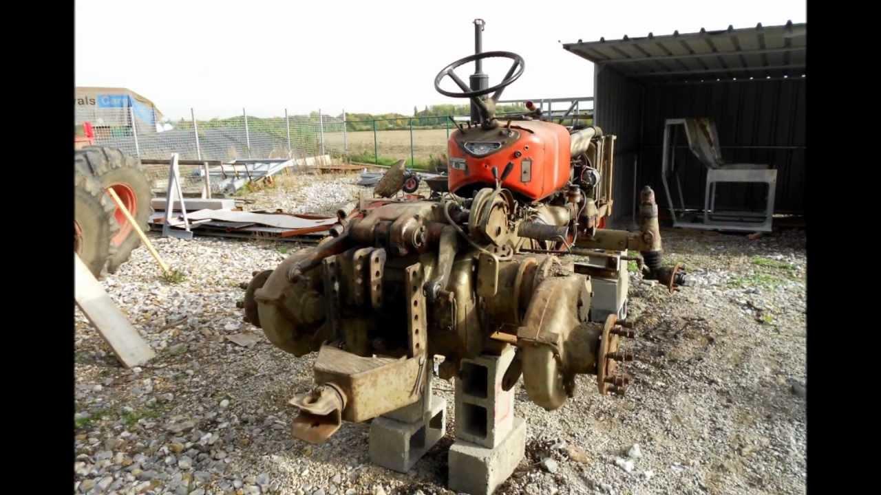 Zetor tractor restoration - YouTube