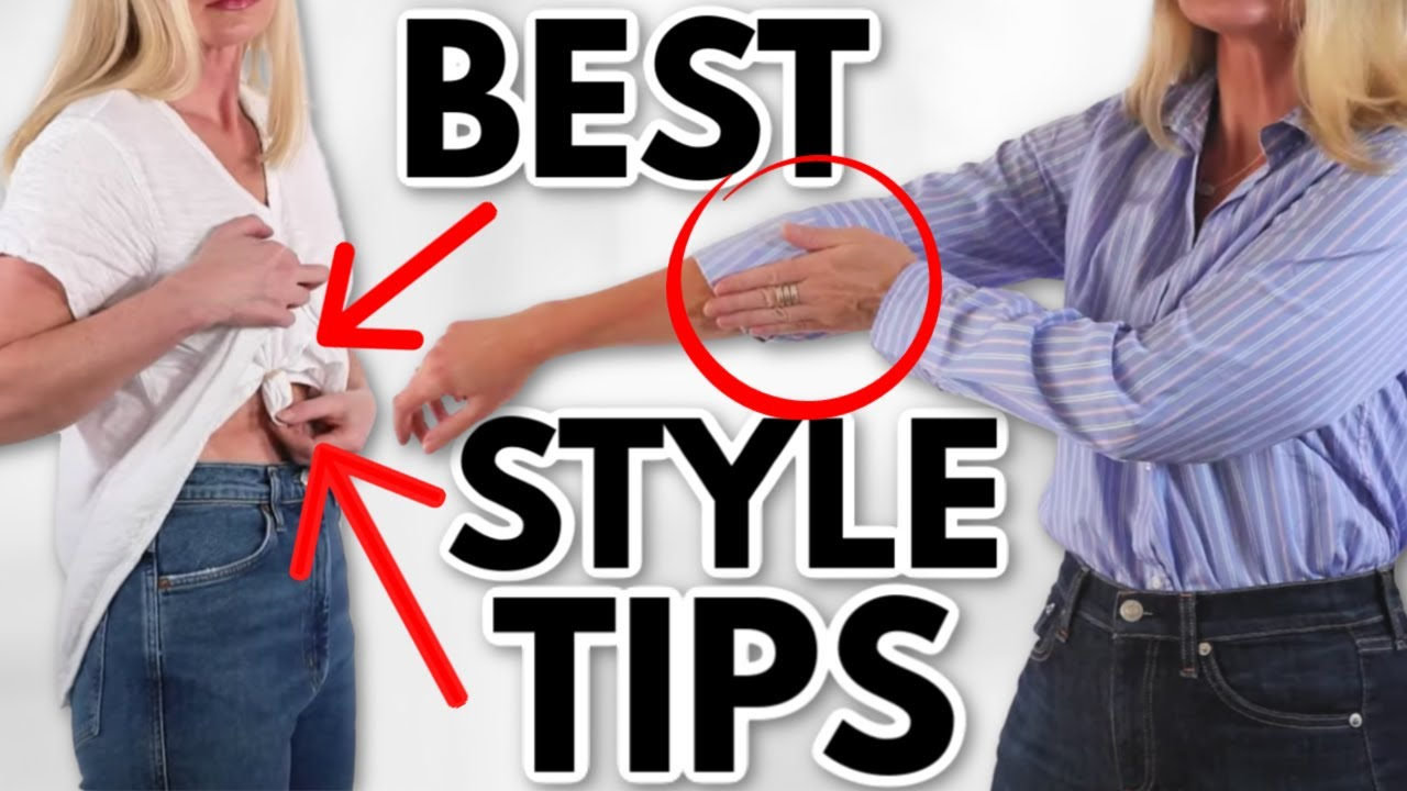 The 20 BEST Style Tips in Under 20 Minutes *You'll Use for LIFE!*