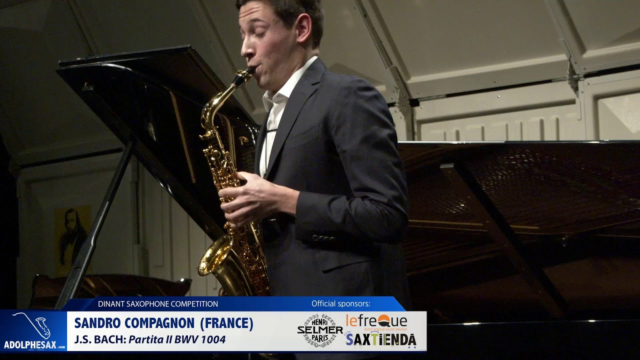 Sandro Compagnon (France) - Partita II by J S Bach (Dinant 2019)