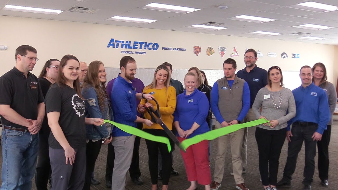Athletico Physical Therapy Ribbon Cutting Youtube