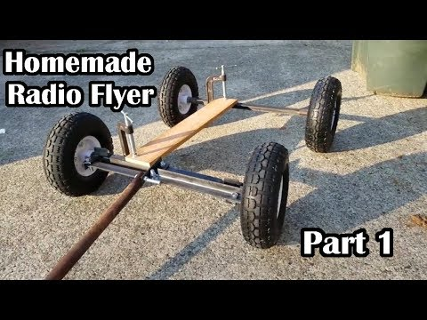 Homemade Wagon With Harbor Freight Welder, Part 1