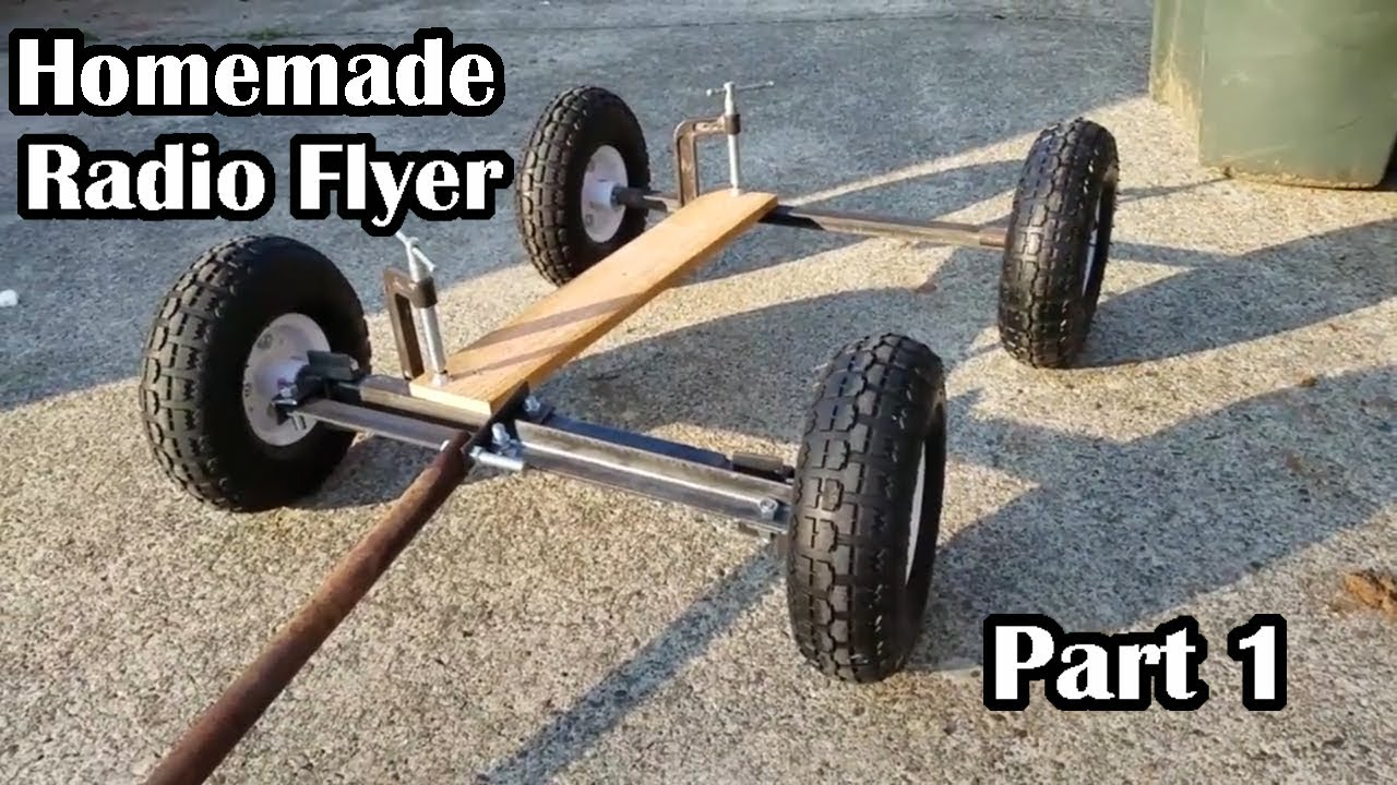 Homemade Wagon With Harbor Freight
