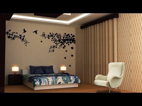 3Ds Max 2018 Bedroom Design Tutorial - Vray Render + Photoshop Part 2