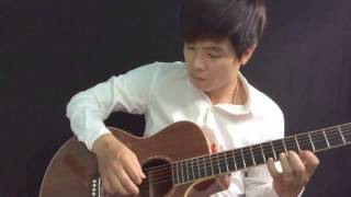 bụi phấn solo guitar acoustic