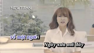 [Karaoke] Nơi Bình Yên - Trịnh Đình Quang | Karaoke HD Netitan