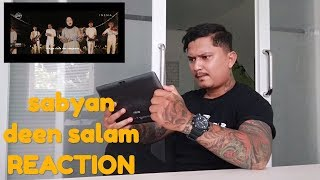 Download Reaksi orang bertato denger deen salam - cover SABYAN ( BANGTATO REACTION VIDEO ) Mp3