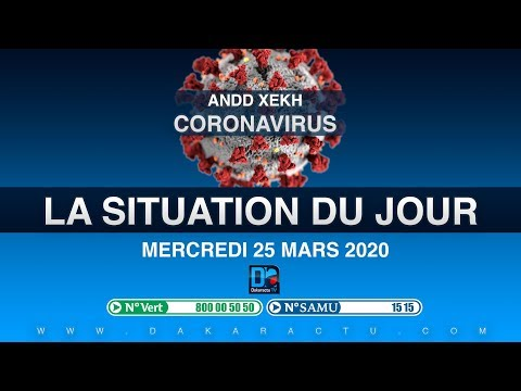 [🔴REPLAY - EDITION SPECIALE] Covid-19: Situation du Mercredi 25 Mars 2020