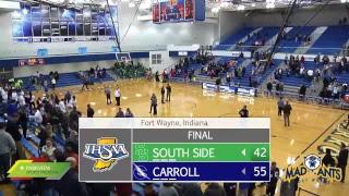 South Side at Carroll | IHSAA Boys Basketball