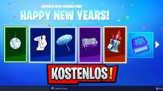 *NEU* ALLE NEUJAHR BELOHNUNGEN IN FORTNITE!! (Neujahr Live Event Leak) | Fortnite Season 7