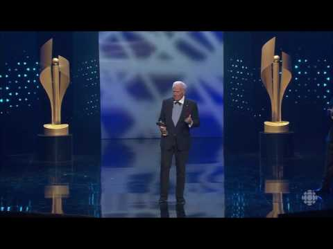 Christopher Plummer Acceptance Speech - 2017 Canadian Screen Awards