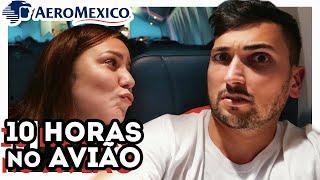 O QUE FAZER DENTRO DO AVIÃO? VOANDO DE SÃO PAULO A CIDADE DO MEXICO NO BOEING 777 DA AEROMEXICO