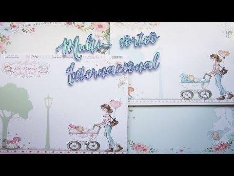 MULTI - SORTEO INTERNACIONAL y  Nuevas colecciones de papel de scrap de Dayka trade