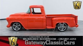 Now Featured in our Milwaukee Showroom: 1956 Chevrolet 3100 Series #165-MWK