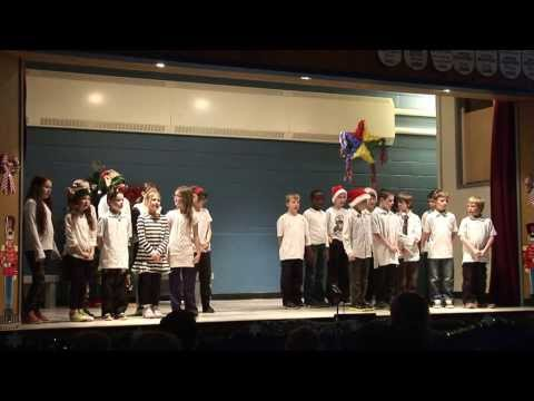 King George Christmas singing
