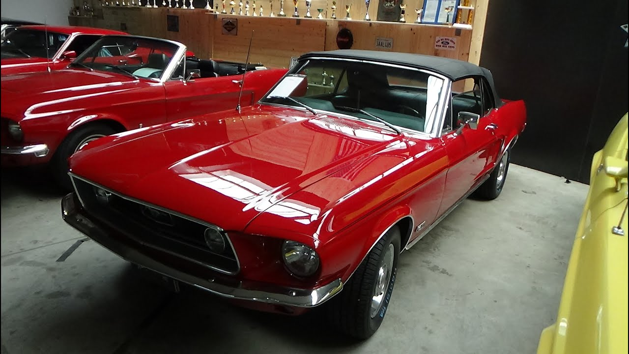 1968 Ford Mustang Cabrio - Exterior and Interior - NR Classic Cars Rudersberg 2020