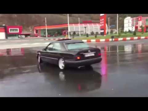Albania Drift Eljo Dibra Mercedes-Benz 300 - Tirana 2017