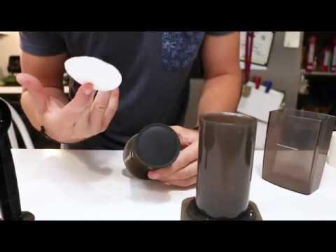 How to make espresso with the Aeropress (w/ Crema)