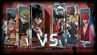 Jump Force - Todos los ataques especiales de los personajes (4K 60fps)
