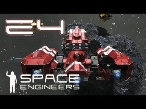 Space Engineers Multiplayer - E04 - Solar Panel! METEOR!