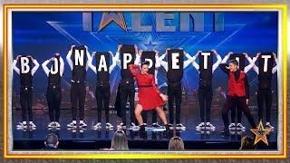 ¿Tienes hambre? D'oo Wap te sirve la cena mientras baila | Audiciones 6 | Got Talent España 2019