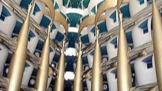Hotel Burj Al Arab por dentro...