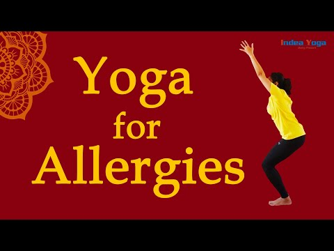 Yoga for Nasal Allergies | Sore throat | Congestion | runny nose remedy | allergic rhinitis | Mysore