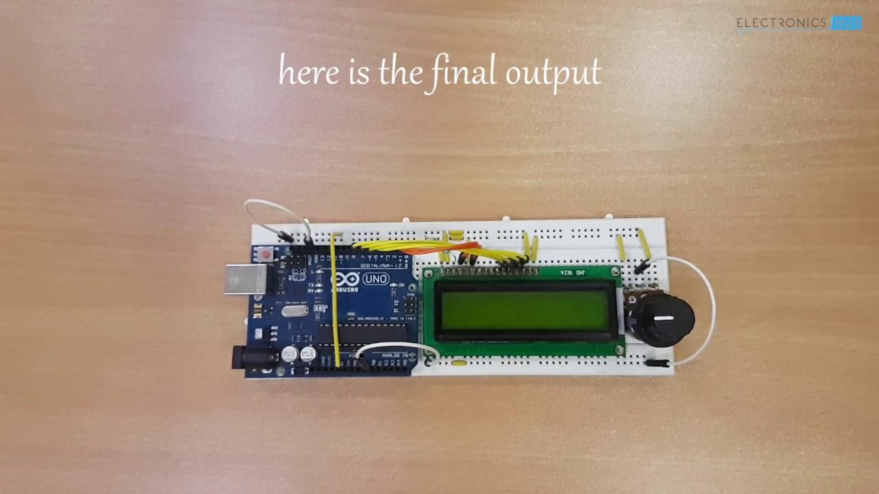 Digital Arduino Voltmeter Youtube Electronic Voltmeters Electronics Hub