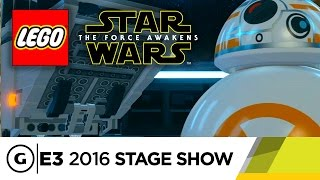 LEGO Star Wars Tells the Film's Full Story - E3 2016 Stage Show