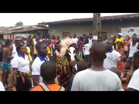African Dancing, Generations Festival, Abidjan, Ivory Coast 2015 Part 2