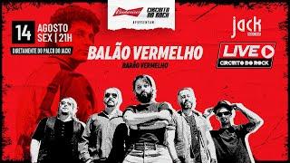 LIVE CIRCUITO DO ROCK | BANDA BALÃO VERMELHO (BARÃO VERMELHO TRIBUTO) | 14/08/2020, 21H