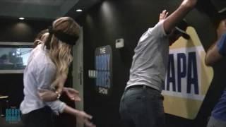Amy Slaps Luke Bryan's Booty