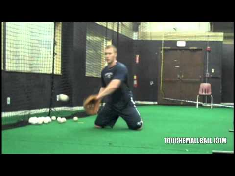 Infield Drills - One-handed Picks