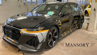 WE REVEAL THE FIRST MANSORY RS6 AVANT! *** Lamborghini URUS NOVITEC, Porsche 911 Turbo Rebuild***