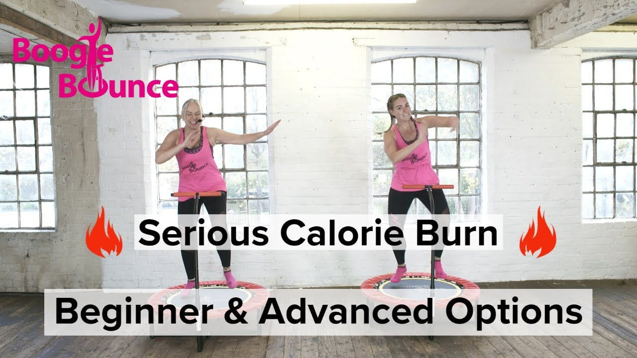 Boogie Bounce | HIIT | Mini Trampoline Rebounder Workout - All Fitness Levels