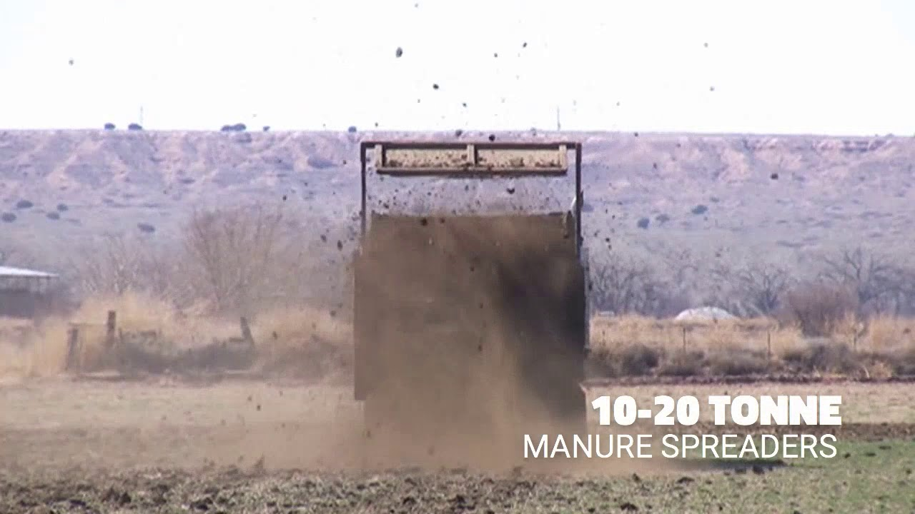 Agrison Manure Spreader Livestock Feeding Equipment