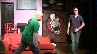 Whole World Theatre Improv Graduation - Rich Desmond and John Hetzel in Stereotypes 3-13-12