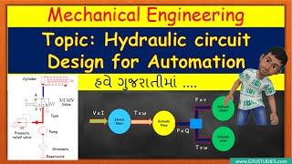Hydraulic circuit design for Automation in Gujarati | AM/OHP | 3171922/3151913 | GTU