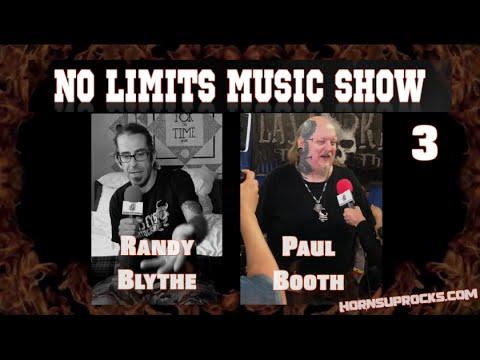 NO LIMITS MUSIC SHOW - 3 (RANDY BLYTHE, PAUL BOOTH, FLOOR JANSEN & More)